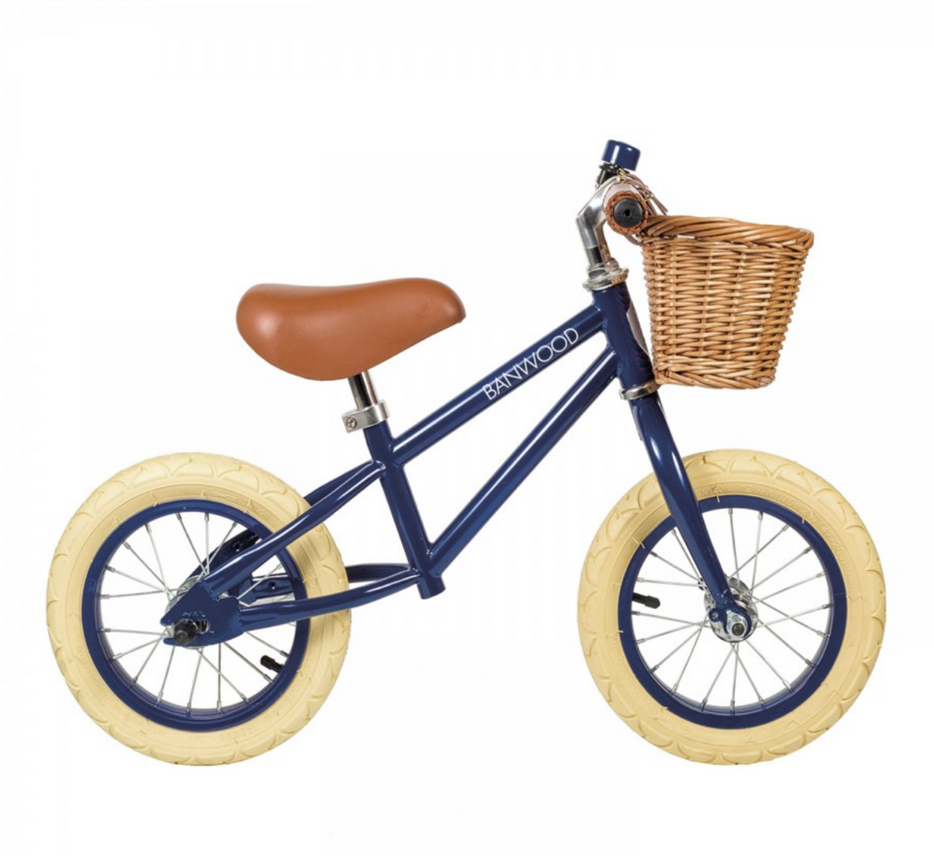 First Go Push Bike - Navy