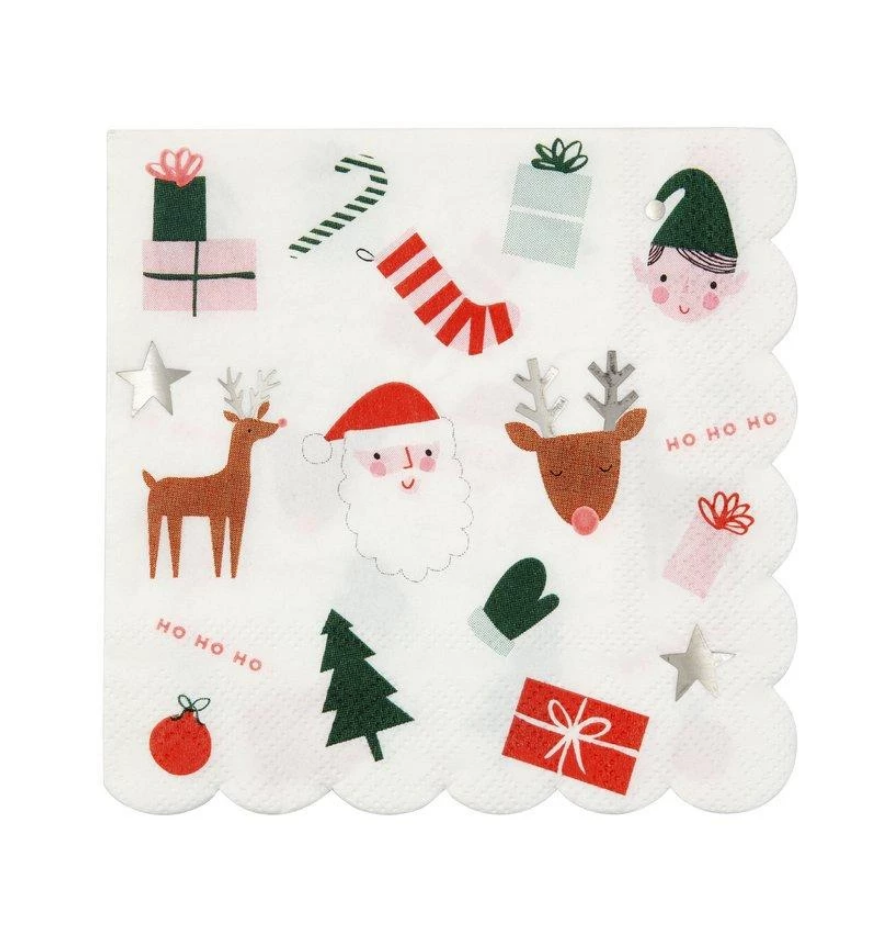 Christmas Icons Large Napkins
