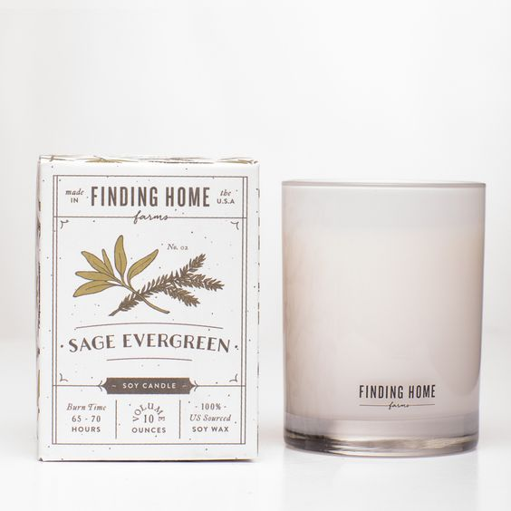 Sage Evergreen Soy Candle