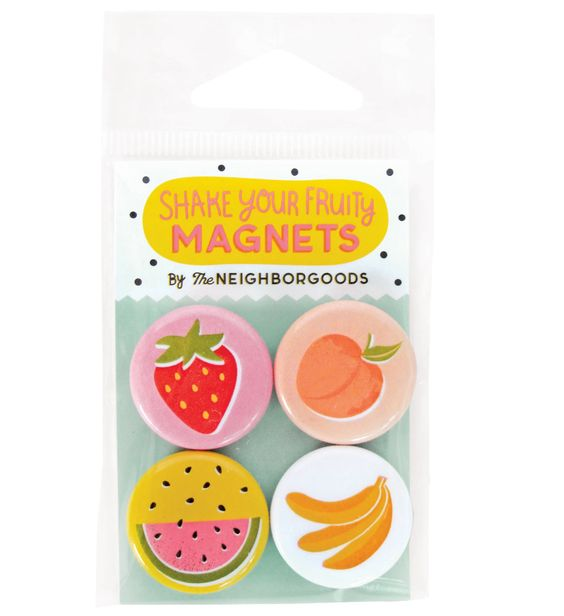 Shake Your Fruity Mini Magnets