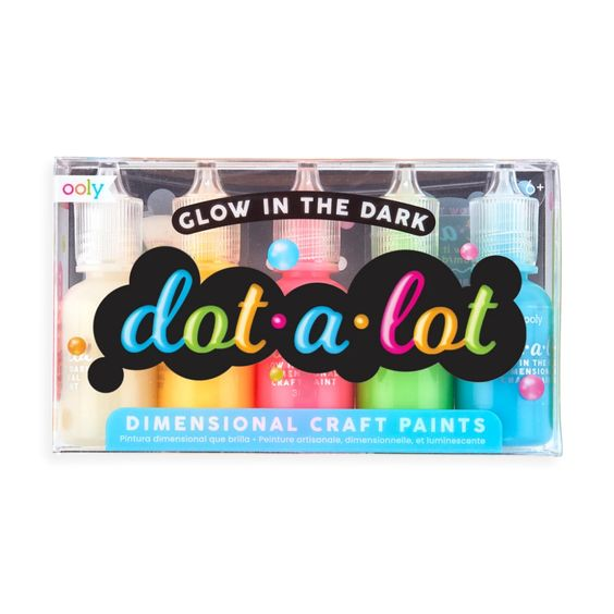 Dot-A-Lot Glow in the Dark Craft Paint