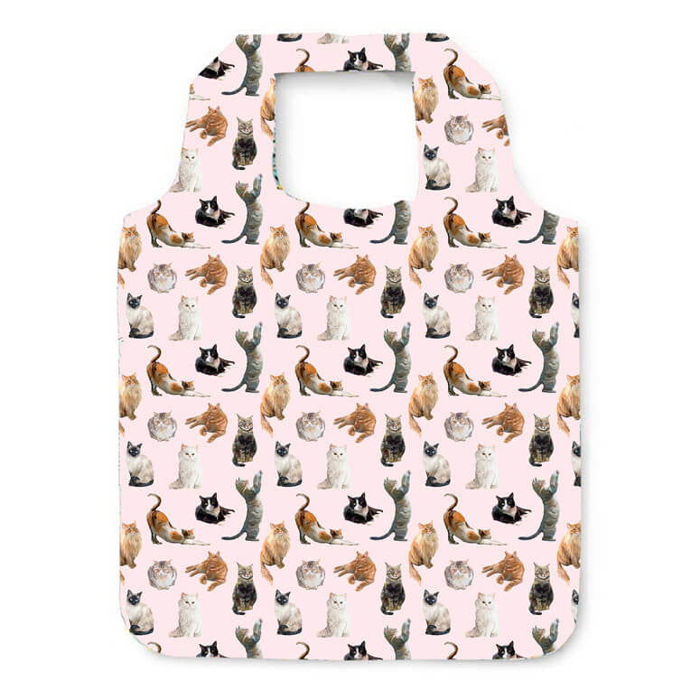 Feline Friends Reusable Shopping Bag