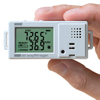 HOBO Bluetooth Low Energy Temperature/Relative Humidity Data Logger – MX1101