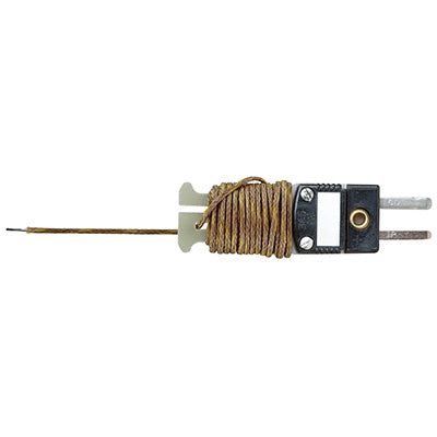 Type J 6 ft Beaded Thermocouple – Range: 0 to 250°C (32° to 482°F) Sensor – TC6-J