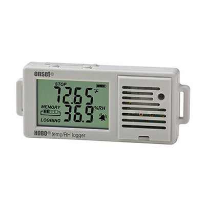 HOBO Temperature/Relative Humidity 3.5% Data Logger – UX100-003