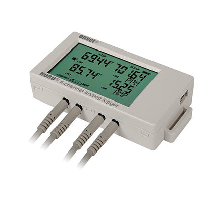 HOBO 4-Channel Analog Data Logger – UX120-006M
