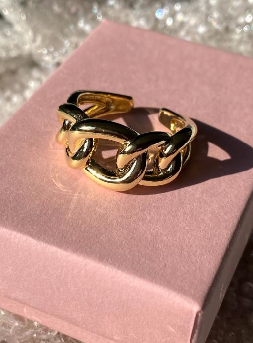 Chain Detail Ring