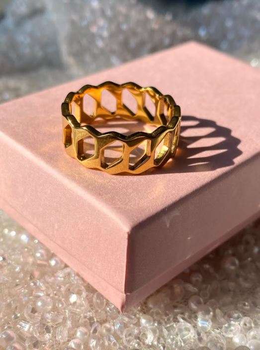 Open Gold Ring