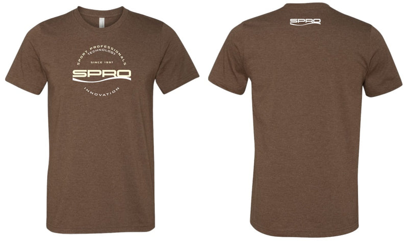 SPRO T-SHIRT INNOVATION & TECHNOLOGY BROWN