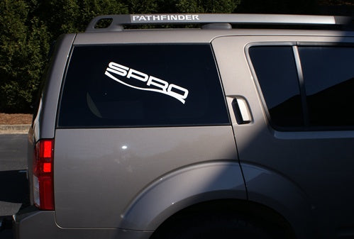 SPRO Boat & Truck Sticker White