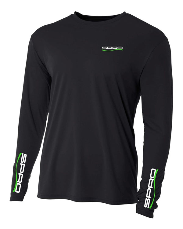 SPRO PERFORMANCE SHIRT LONG SLEEVE BLACK