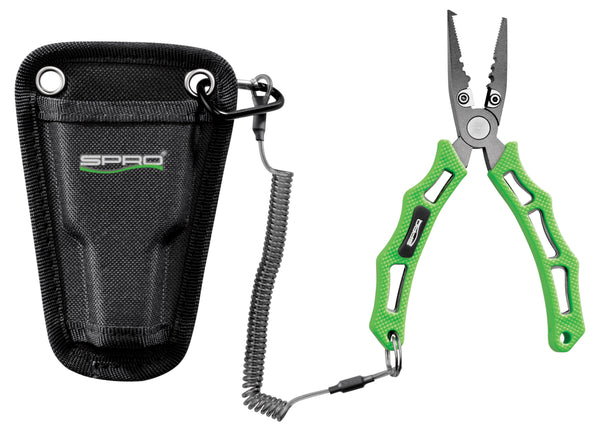 SPRO Pliers 6 inch Green