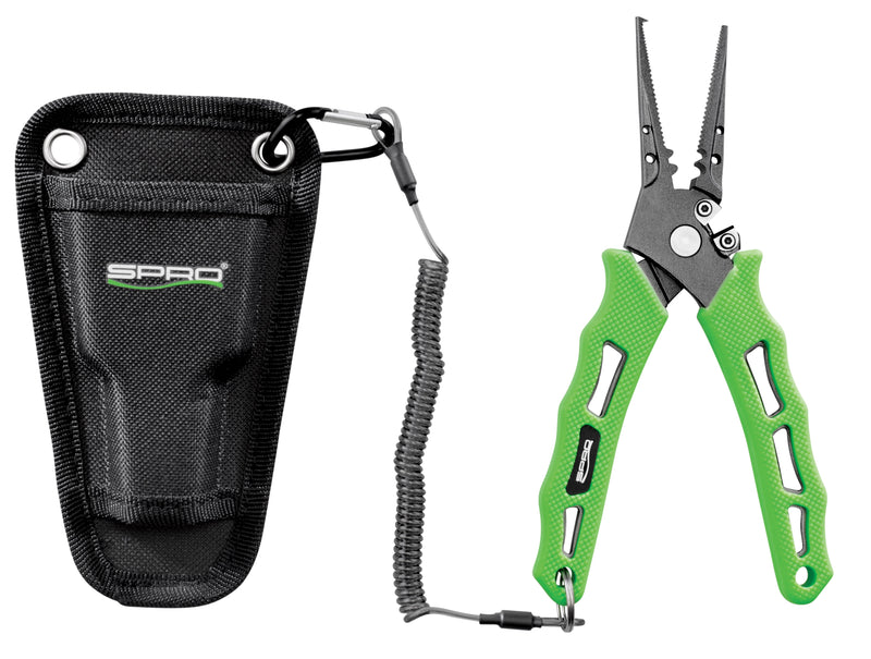 SPRO Pliers 7.5 inch Green