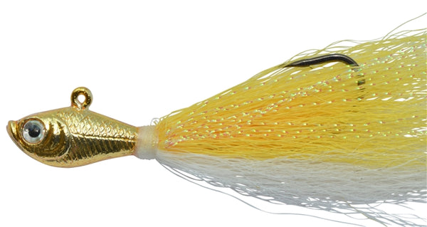 BUCKTAIL JIG CHROME GOLD