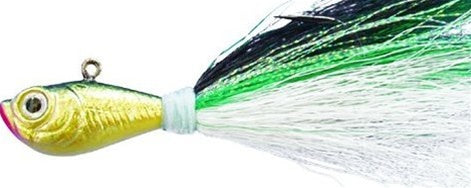 BUCKTAIL JIG GREEN SHAD