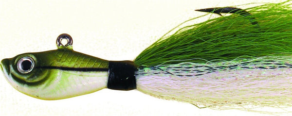 BUCKTAIL JIG SAND EEL GREEN