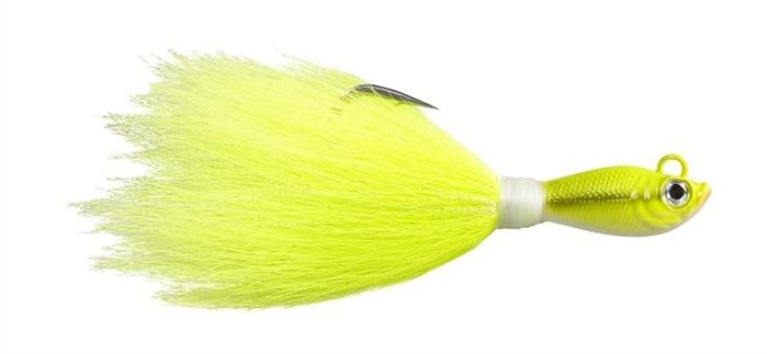 POWER BUCKTAIL JIG CRAZY CHARTREUSE