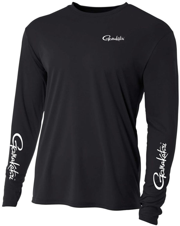 GAMAKATSU PERFORMANCE SHIRT LONG SLEEVE BLACK