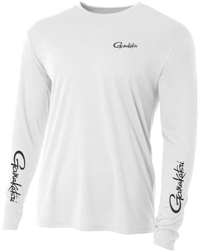 GAMAKATSU PERFORMANCE SHIRT LONG SLEEVE WHITE