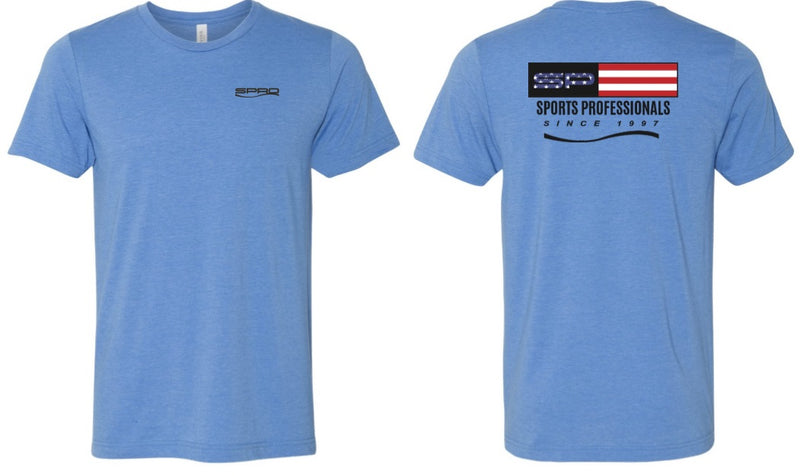 SPRO T-SHIRT SP USA COLUMBIA BLUE