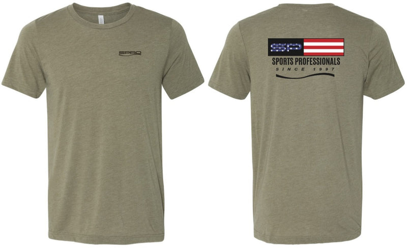 SPRO T-SHIRT SP USA OLIVE