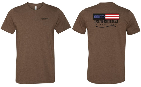 SPRO T-SHIRT SP USA BROWN
