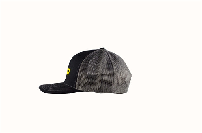 SPRO HAT BLACK WITH GRAY MESH