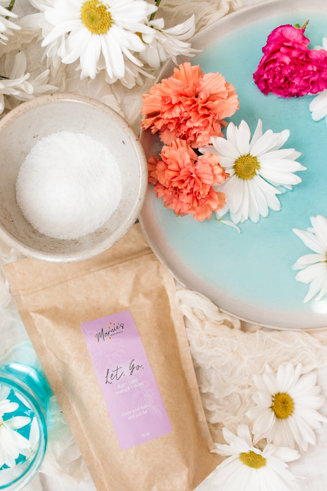 All Natural Bath & Body Products Including Bath Salts And Skincare