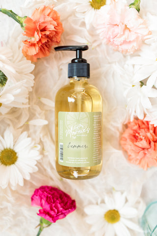 Natural Summer Body Oil