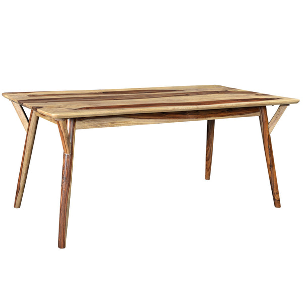 Mira Rectangular Dining Table in Sheesham