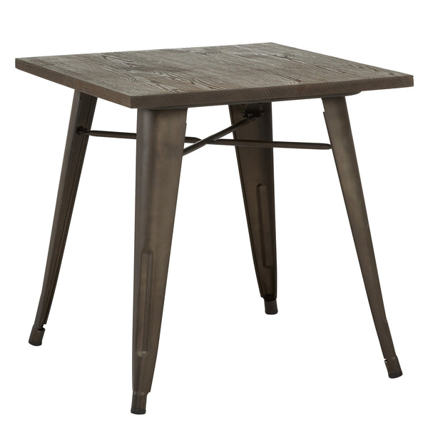 Modus Dining Table in Gunmetal