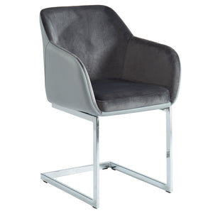 Spaniel Dining Chair (Grey)