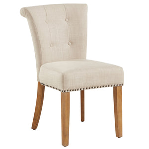 Selma Side Chair in Beige