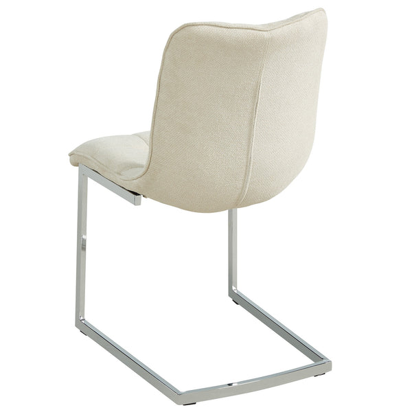 Galyn Side Chair in Beige