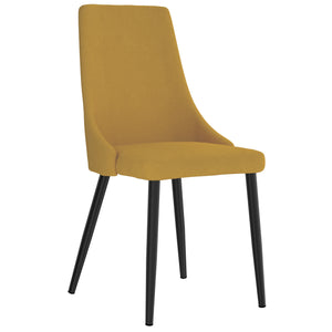 Dinmont Dining Chair (Mustard)