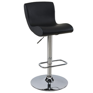 Silvio Gas Lift Stool in Black
