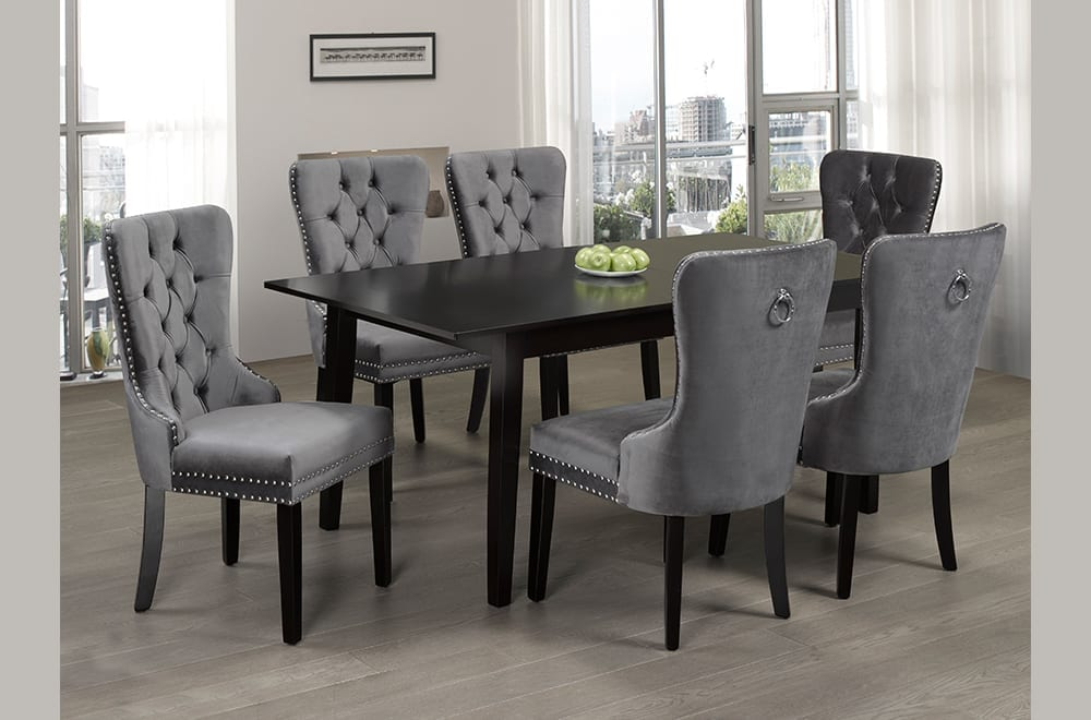 T3009/246G 7 Pcs. Dining set
