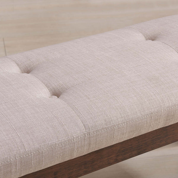 Leanne Double Bench in Beige