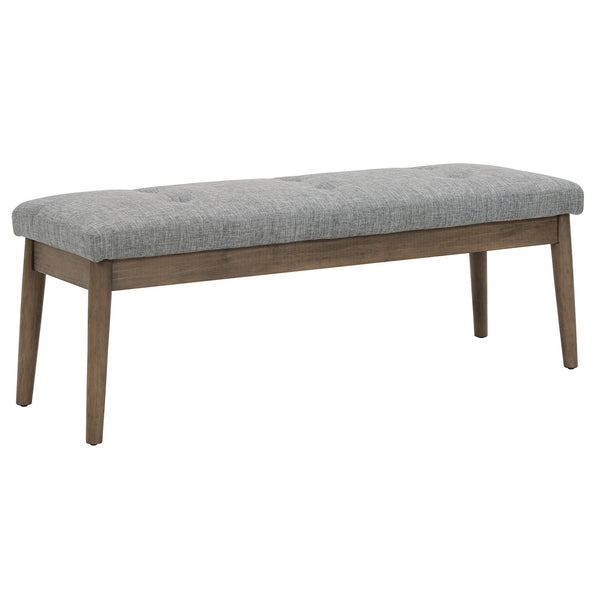 Leanne Double Bench in Light Grey