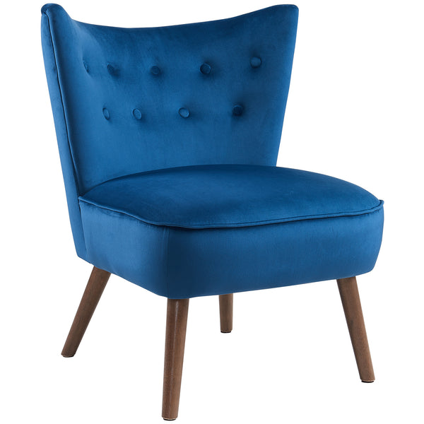Vampire Accent Chair (Blue)
