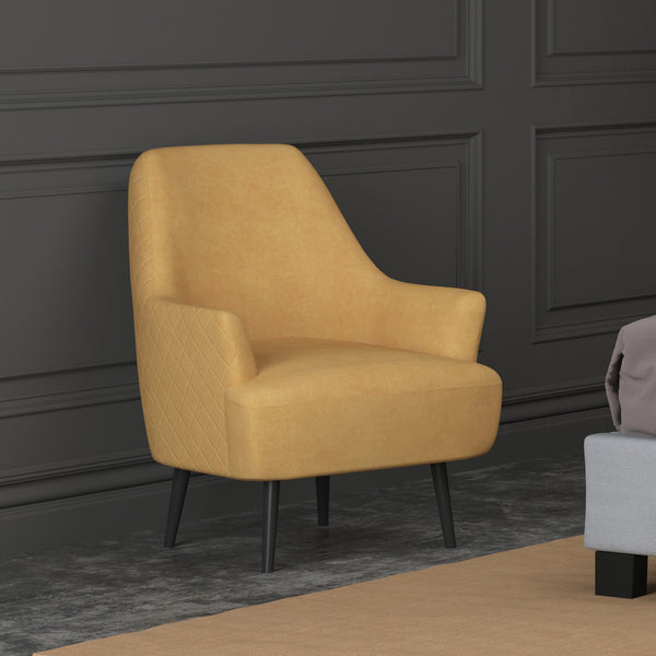 Eel Accent Chair (Charcoal)