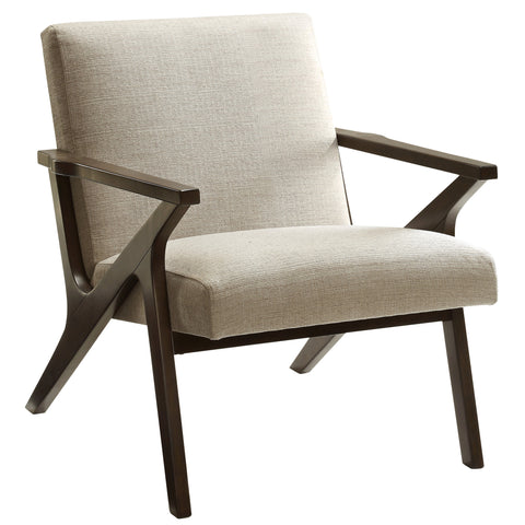 Mussel Accent Chair (Beige)