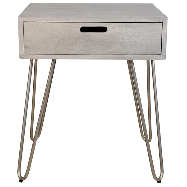Jaydo Accent Table in Light Grey