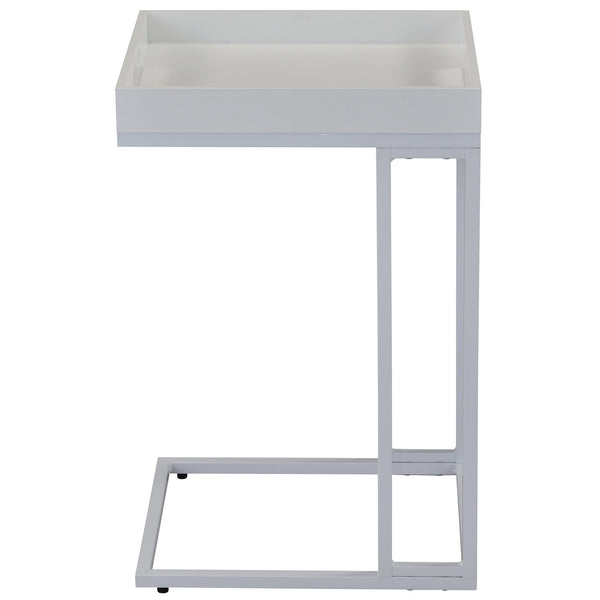 Tobina Accent Table in White