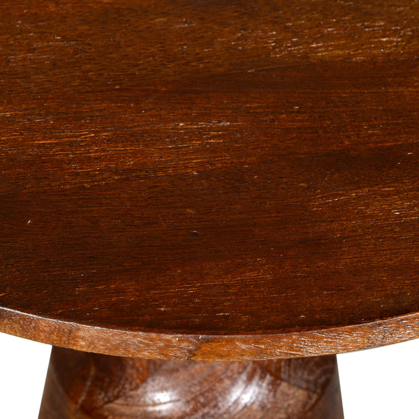 Advik Accent Table in Walnut