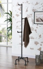 Bronx Coat Rack in Antique Black