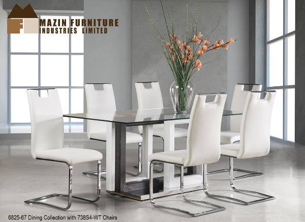 6825 7Pc. Dining Set