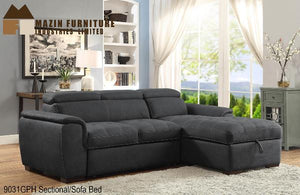 9031 Sofabed Sectional