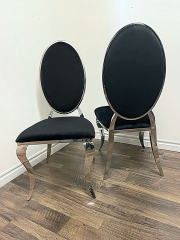 Bronx Black Dining Chair (special)