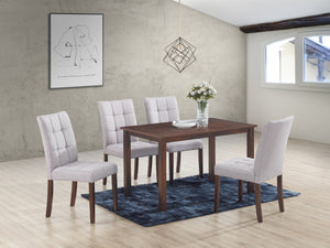 Clare Light Grey 5 Pc. Dining Set